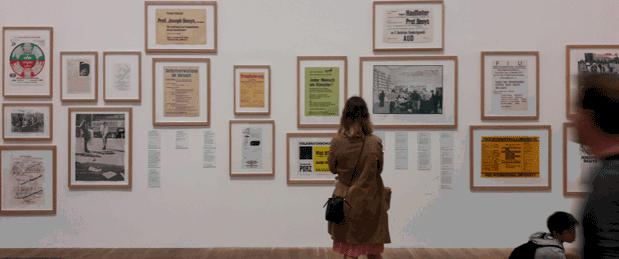 Beuys-Ausstellung in der Londoner Tate-Gallery