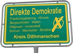 Ur-Demokratie ab 2013 in neun Gemeinden