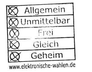 elektronische Wahlen