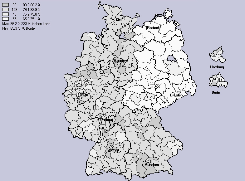 Wahlbeteiligung 2002
