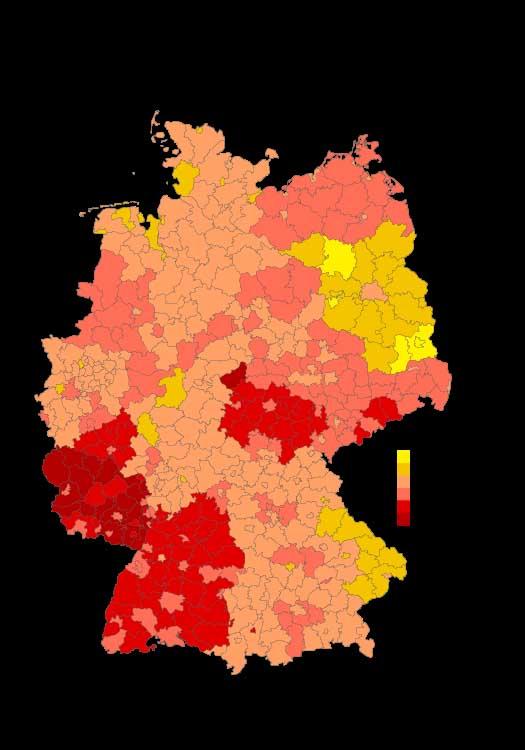 Europa-Wahlbeteiligung 2004